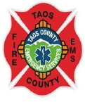 Taos County Fire and EMS badge