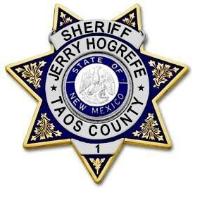 Taos County Sheriff Badge for Jerry Hogrefe